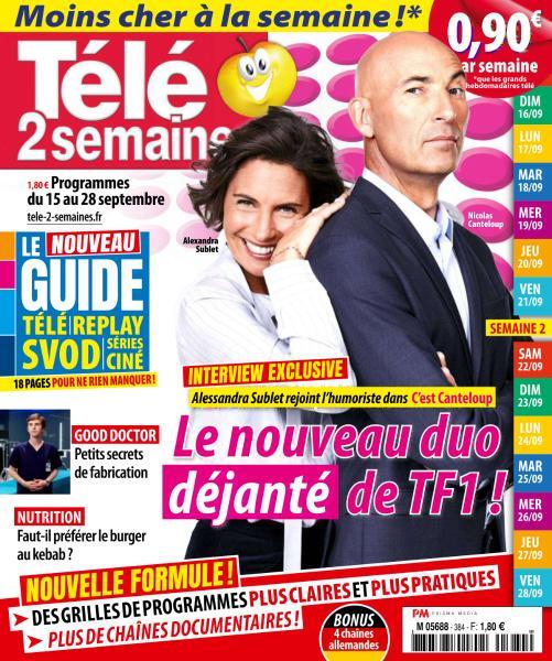 Télé 2 Semaines – 15 Septembre 2018