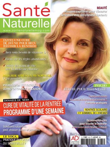 Santé Naturelle – Septembre-Octobre 2018