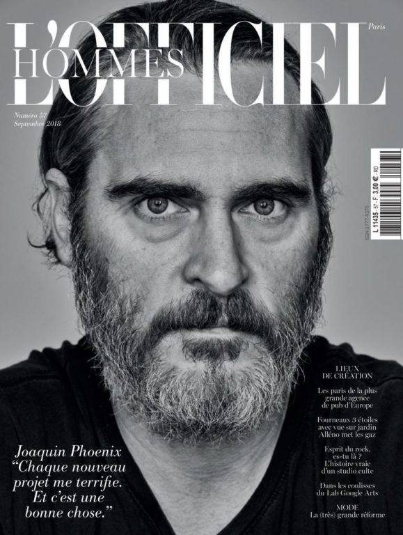 L'Officiel Hommes Paris – Septembre 2018