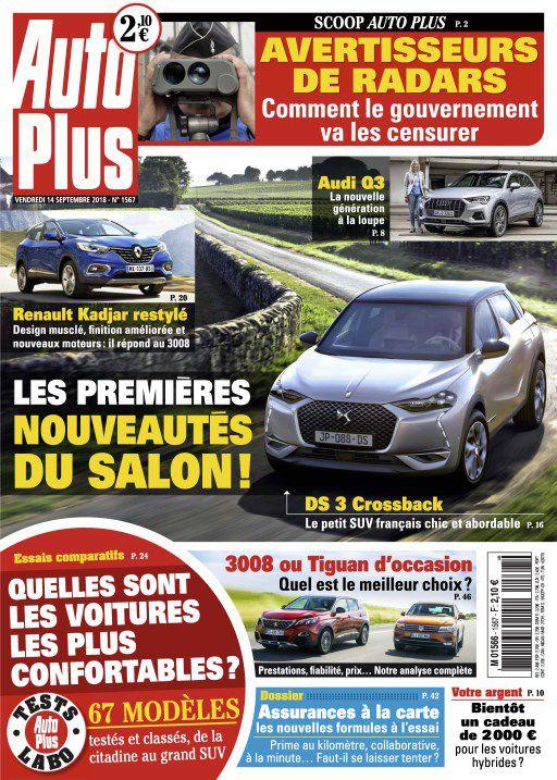 Auto Plus – 14 Septembre 2018