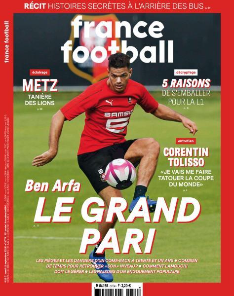 France Football – 11 Septembre 2018