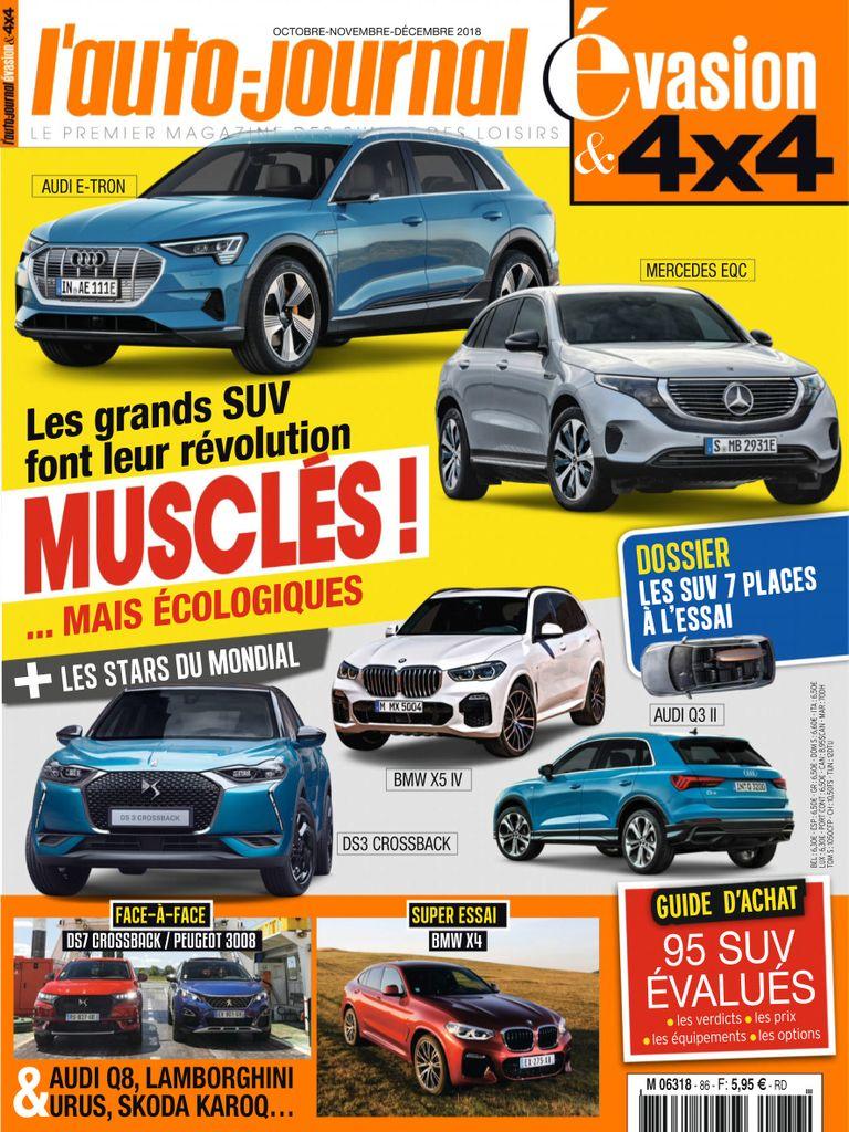 L'Auto-Journal 4×4 – Octobre 2018