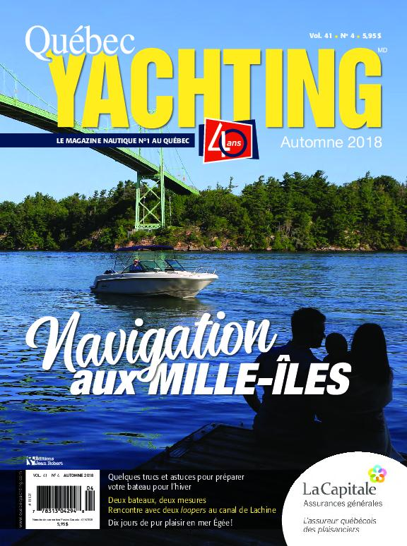 Quebec Yachting – Septembre 2018