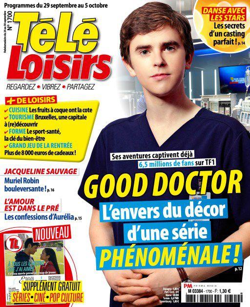 Télé Loisirs – 24 Septembre 2018