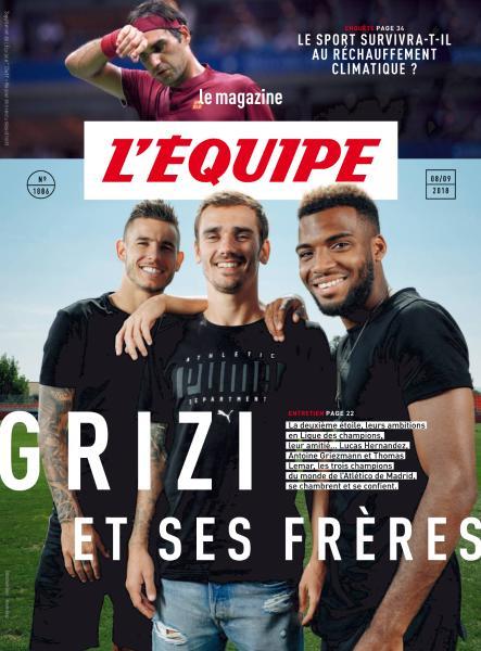 L'Equipe Magazine – 8 Septembre 2018