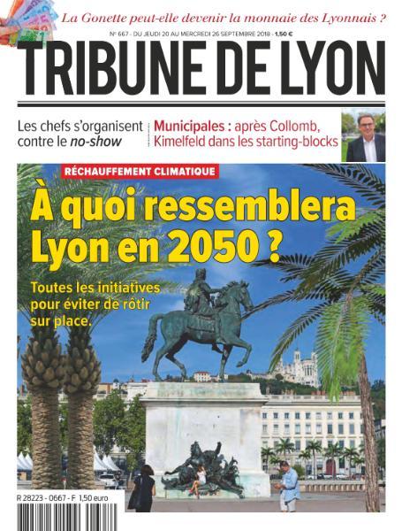 Tribune De Lyon – 20 Septembre 2018