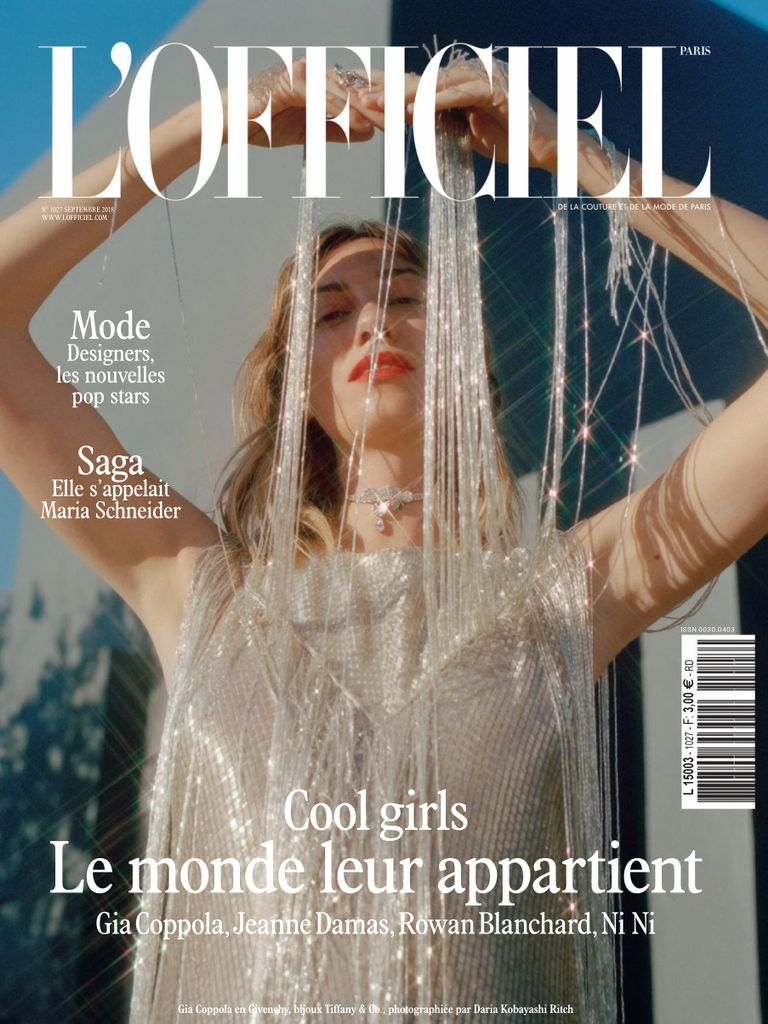 L'Officiel Paris – Septembre 2018