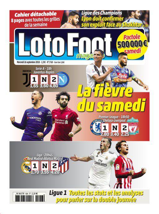 Loto Foot Magazine – 26 Septembre 2018