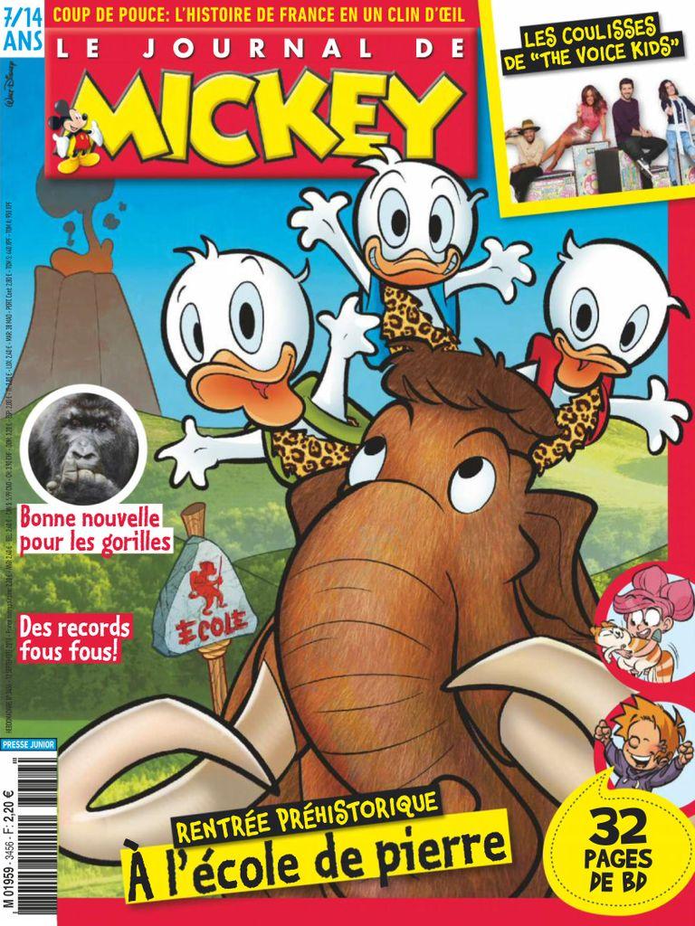Le Journal De Mickey – 12 Septembre 2018