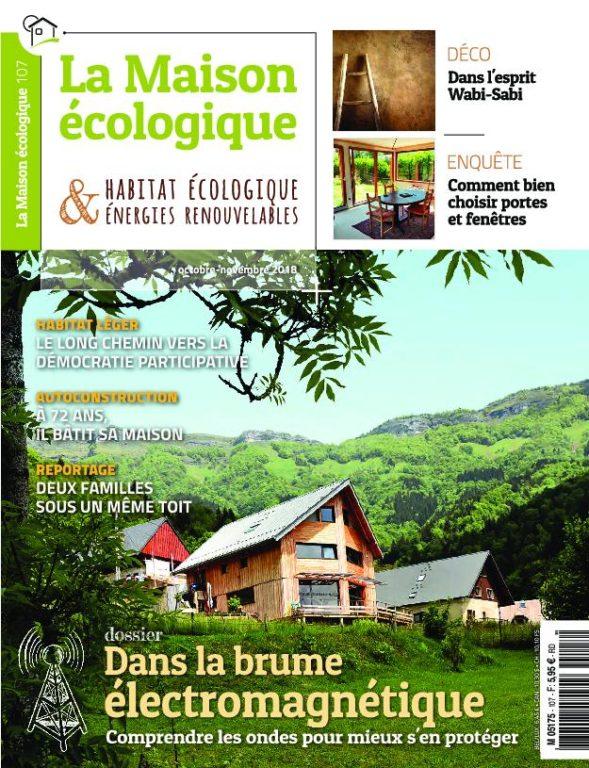 La Maison écologique – Octobre-novembre 2018