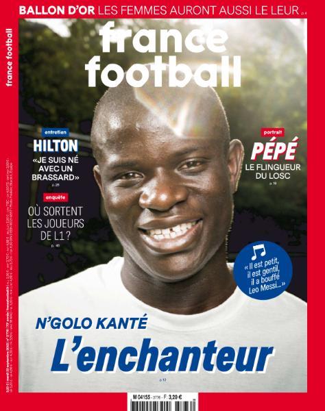 France Football – 25 Septembre 2018