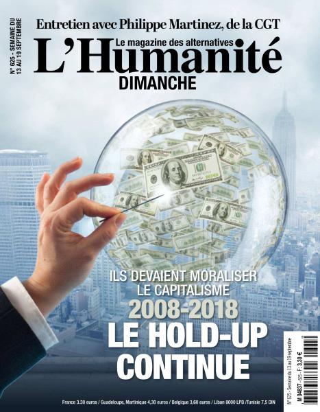 L'Humanite Dimanche – 13 Septembre 2018