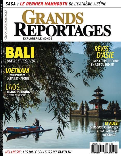 Grands Reportages – Octobre 2018