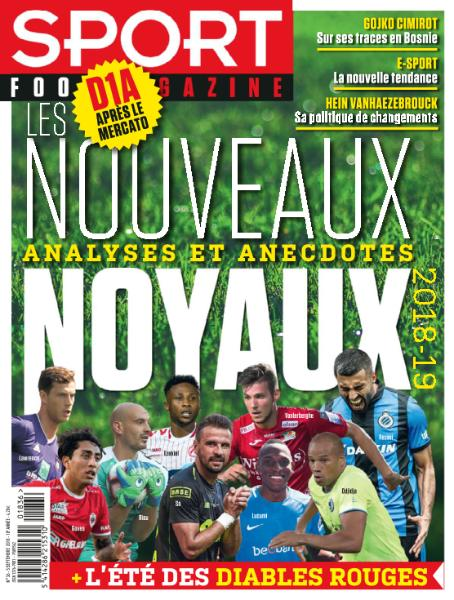 Sport Foot Magazine – 5 Septembre 2018