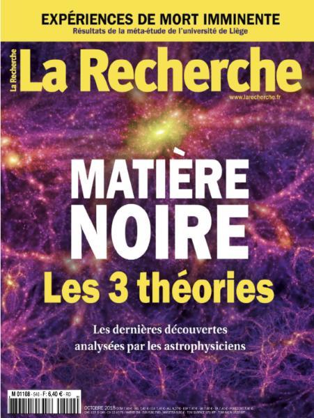La Recherche – Octobre 2018