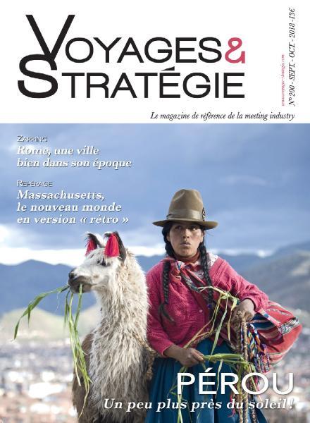 Voyages & Stratégie – Septembre-Octobre 2018