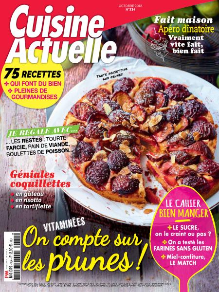 Cuisine Actuelle – Octobre 2018