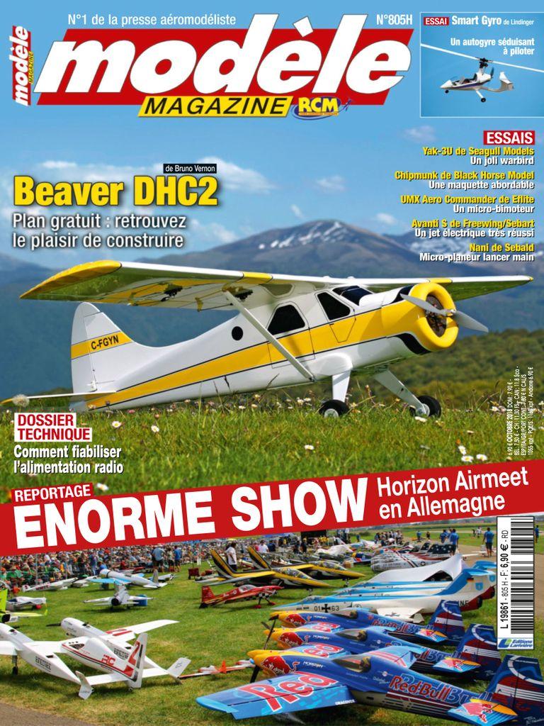 Modèle Magazine – Octobre 2018