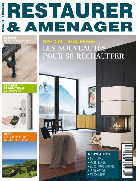 Restaurer & Aménager – Septembre-Octobre 2018