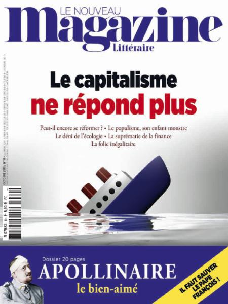 Le Nouveau Magazine Littéraire – Octobre 2018