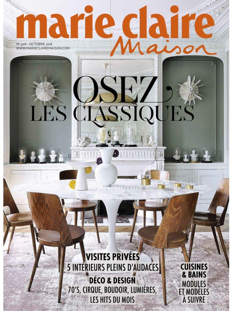Marie Claire Maison France – Octobre 2018