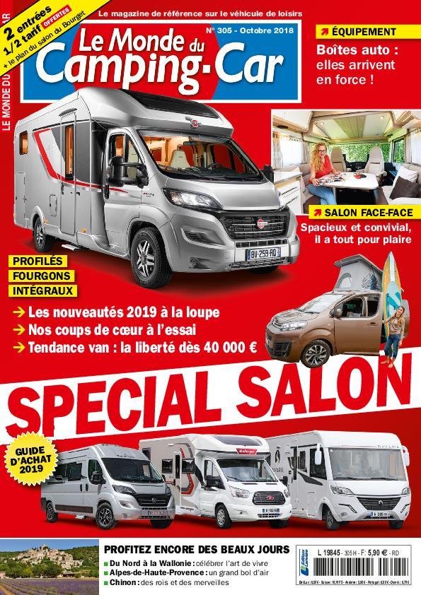 Le Monde Du Camping-Car – Octobre 2018