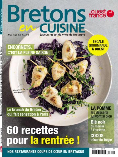Bretons En Cuisine – Septembre-Novembre 2018