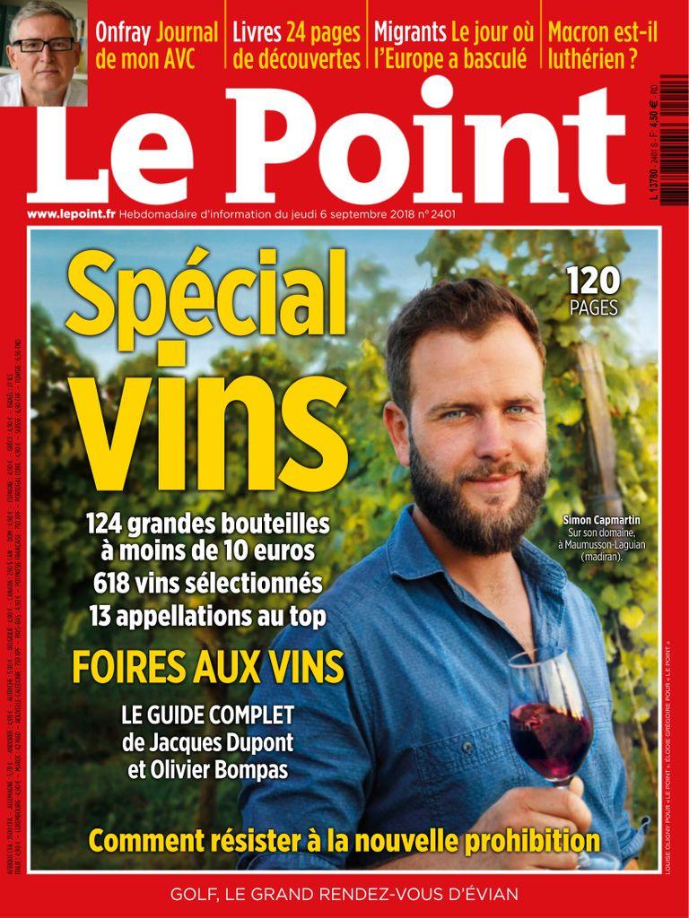 Le Point – 06 Septembre 2018