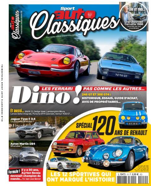 Sport Auto Classiques – Octobre-Décembre 2018