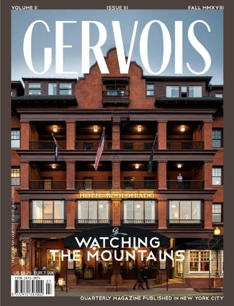 Gervois Magazine – Fall 2018