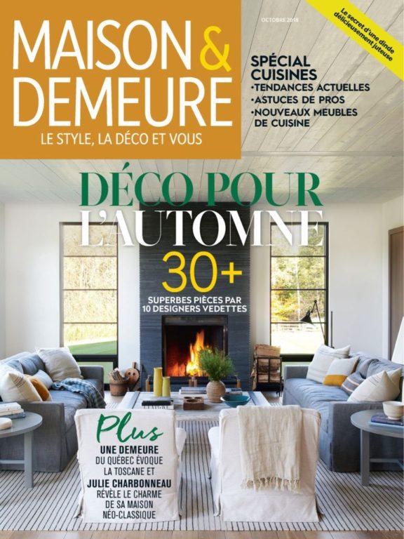 Maison & Demeure – Octobre 2018