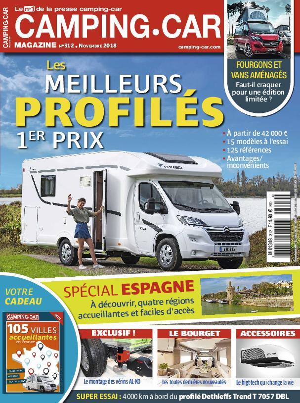 Camping-Car Magazine – Novembre 2018