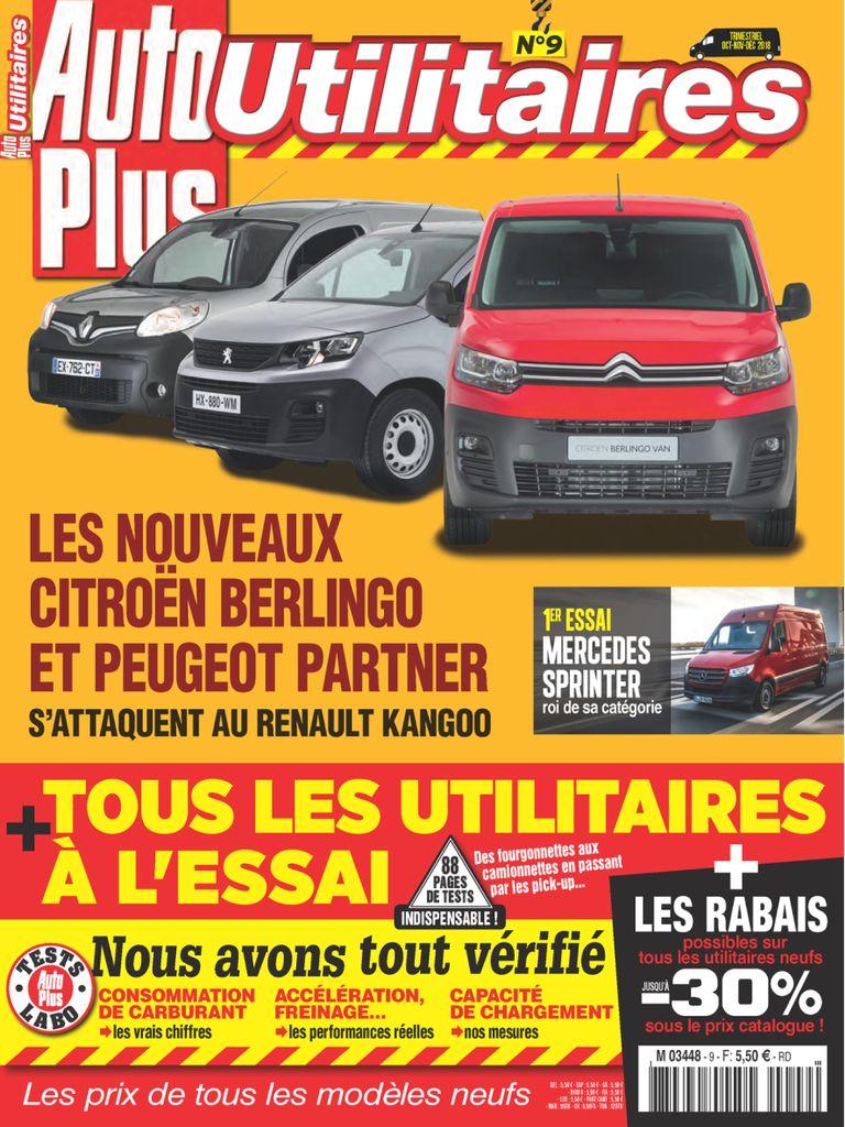 Auto Plus Utilitaires – Septembre 2018