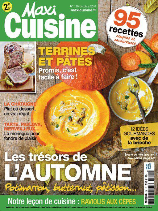 Maxi Cuisine – Octobre 2018