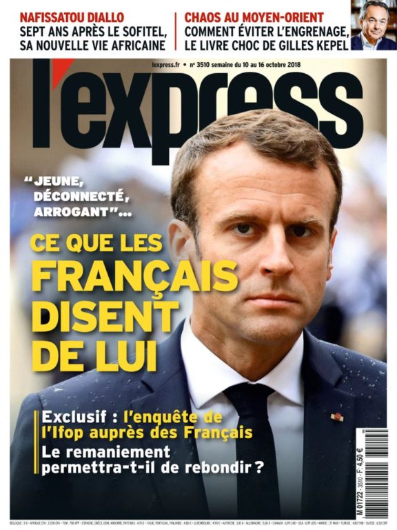 L'Express – 08 Octobre 2018