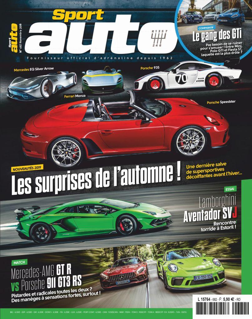 Sport Auto France – Novembre 2018
