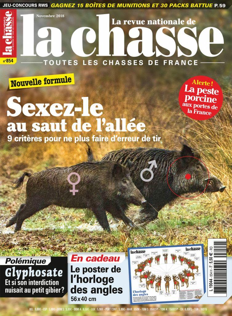 La Revue Nationale De La Chasse – Novembre 2018