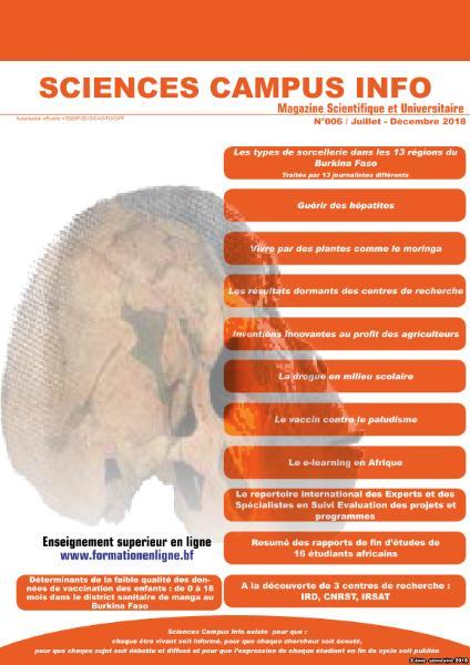 Sciences Campus Info – Juillet-Décembre 2018