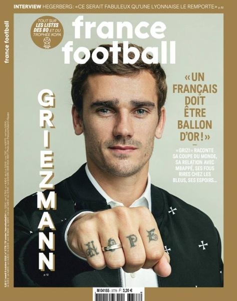 France Football – 9 Octobre 2018