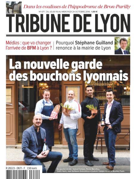 Tribune De Lyon – 18 Octobre 2018