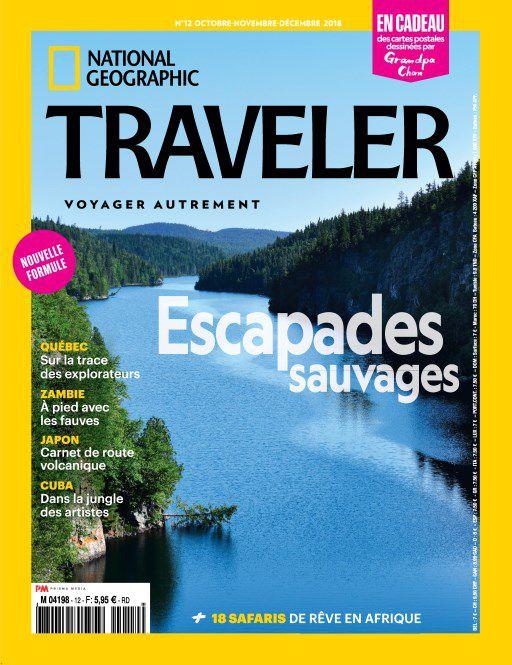 National Geographic Traveler France – Octobre-Décembre 2018