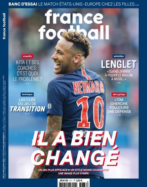 France Football – 2 Octobre 2018