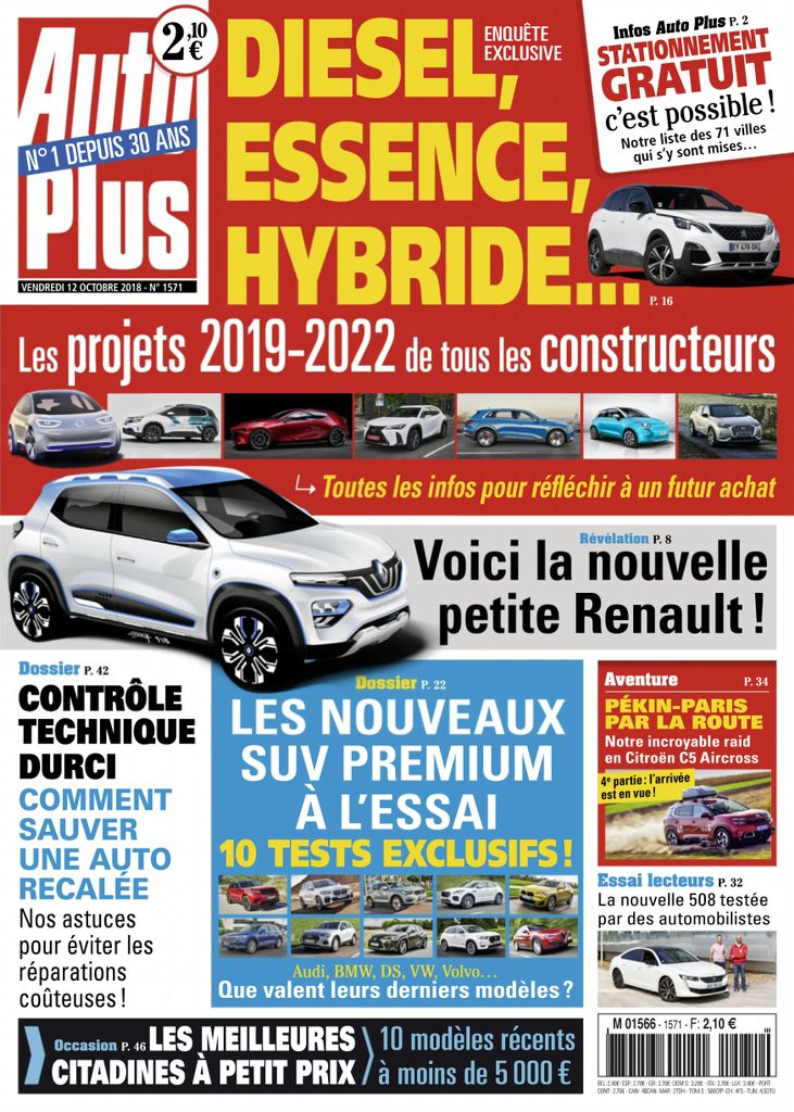 Auto Plus France – 12 Octobre 2018
