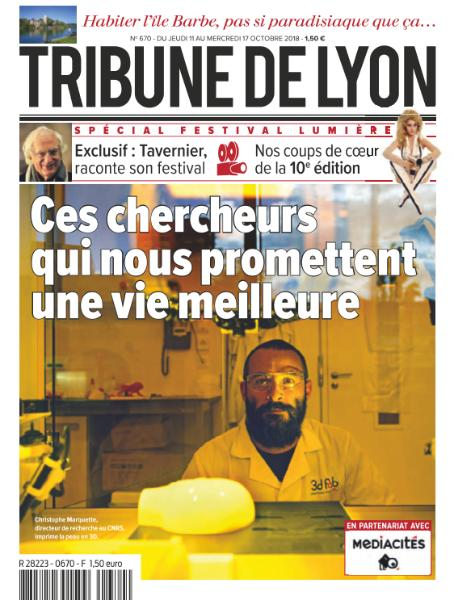 Tribune De Lyon – 11 Octobre 2018