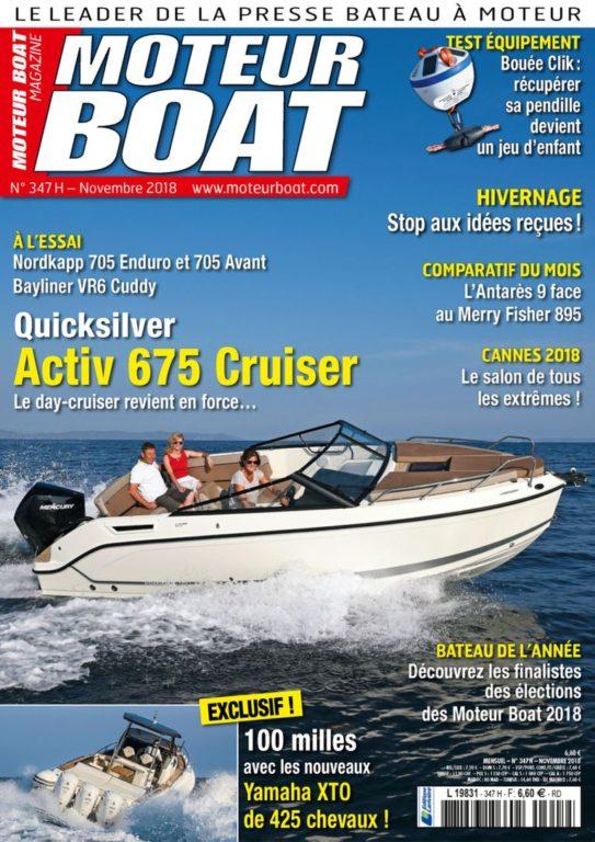 Moteur Boat – Novembre 2018
