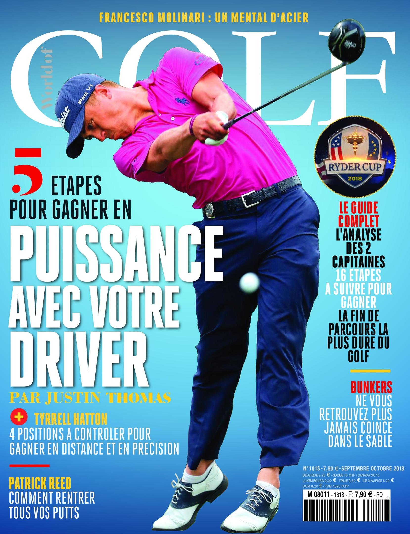 World Of Golf France – Septembre 2018