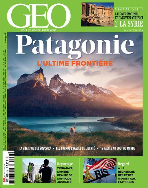 Geo France – Octobre 2018
