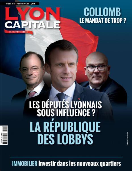 Lyon Capitale – Octobre 2018