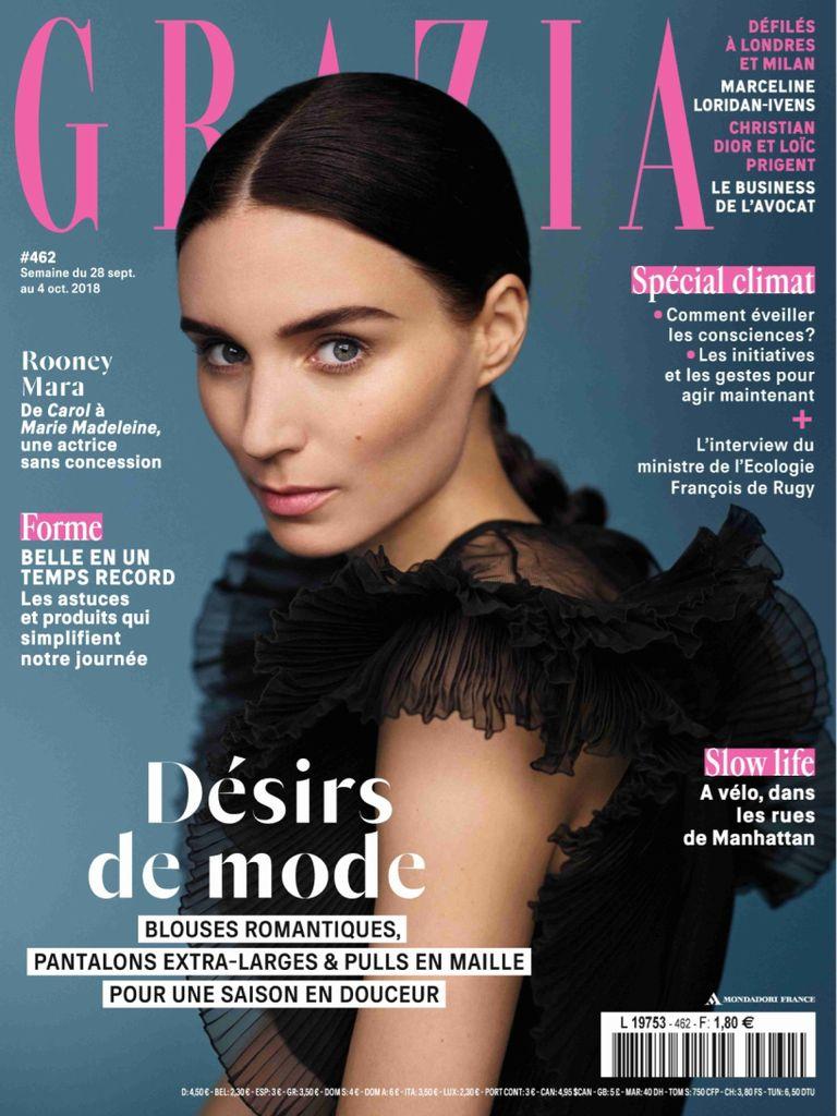Grazia France – 28 Septembre 2018