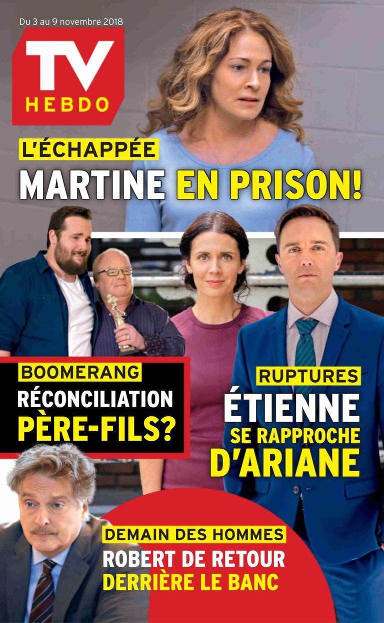 TV Hebdo – 03 Novembre 2018